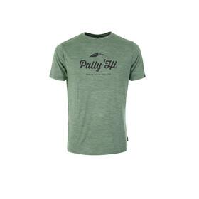 Pally'Hi Classic Peak Logo Maglietta a maniche corte Uomo verde